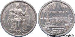 POLYNÉSIE FRANÇAISE 1 Franc I.E.O.M. 1985 Paris SUP