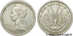 FRENCH WEST AFRICA - FRENCH UNION / UNION FRANÇAISE 1 Franc 1948 Paris AU