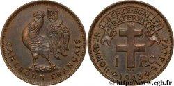 CAMEROON - FRENCH MANDATE TERRITORIES 1 franc 1943 Prétoria AU