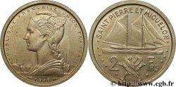 SAINT PIERRE AND MIQUELON 2 Francs ESSAI 1948 Paris MS