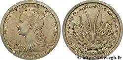 AFRIQUE ÉQUATORIALE FRANÇAISE - UNION FRANÇAISE 1 franc ESSAI 1948 Paris SPL