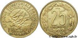 FRENCH EQUATORIAL AFRICA - CAMEROON Essai de 25 Francs 1958 Paris XF
