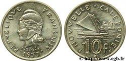 NOUVELLE CALÉDONIE 10 Francs 1977 Paris