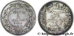 TUNISIE - PROTECTORAT FRANÇAIS 2 Francs AH1329 1911 Paris - A SUP