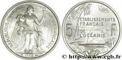 FRENCH POLYNESIA - French Oceania 5 Francs ESSAI 1952 Paris MS