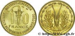 AFRICA FRANCESA DEL OESTE - TOGO 10 Francs Essai 1957 Paris SC