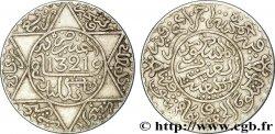 MOROCCO 2 1/2 Dirhams Abdul Aziz I an 1321 1903 Londres XF