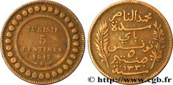 TUNISIA - French protectorate 5 Centimes AH1330 1912 Paris