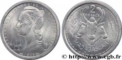 MADAGASKAR - FRANZÖSISCHE UNION 2 Francs 1948 Paris fST