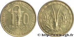FRENCH WEST AFRICA - TOGO 10 Francs masque / antilope 1957 Paris MS