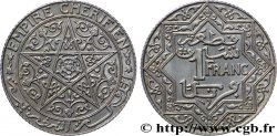 MAROKKO 1 Franc Empire Chérifien - Maroc N.D. Poissy fST
