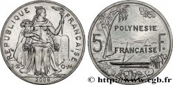 FRENCH POLYNESIA 5 Francs 2008
