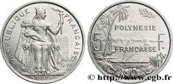 FRENCH POLYNESIA 5 Francs I.E.O.M. Polynésie Française 1982 Paris AU