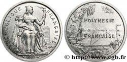 POLINESIA FRANCESA 2 Francs I.E.O.M. Polynésie Française 1983 Paris SC
