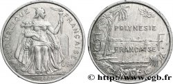 FRENCH POLYNESIA 5 Francs I.E.O.M. Polynésie Française 1997 Paris AU