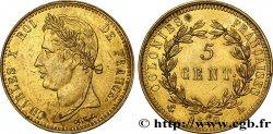 COLONIES FRANÇAISES - Charles X, pour la Guyane 5 Centimes pour les colonies françaises, Guyane 1829 Paris SUP