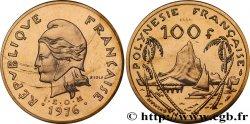 FRENCH POLYNESIA Essai de 100 Francs 1976 Paris MS70