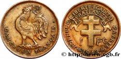 CAMEROON - FRENCH MANDATE TERRITORIES 1 Franc 'Cameroun Français' 1943 Prétoria AU