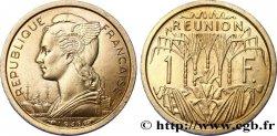 ÎLE DE LA RÉUNION Essai de 1 Franc 1948 Paris FDC