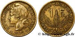 TOGO - FRANZÖSISCHE MANDAT 1 Franc 1925 Paris fVZ