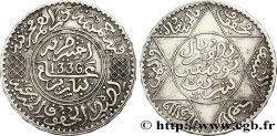 MARUECOS 5 Dirhams Moulay Youssef I an 1336 1917 Paris