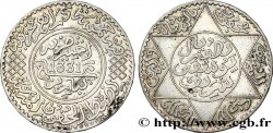 MOROCCO - FRENCH PROTECTORATE 5 Dirhams Moulay Youssef I an 1331 1913 Paris AU