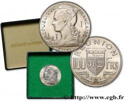 ÎLE DE LA RÉUNION Essai de 100 Francs 1964 Paris SPL