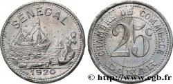 Afrique fran aise s n gal 50 centimes et 1 franc chambre for Chambre de commerce dakar senegal