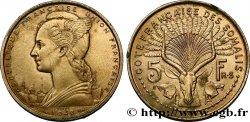 FRENCH SOMALILAND Essai de 5 Francs 1948 Paris MS
