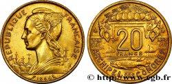 COMOROS 20 Francs 1964 Paris XF
