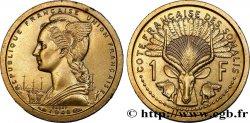 CÔTE FRANÇAISE DES SOMALIS Essai de 1 Franc 1948 Paris SPL