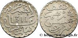 MOROCCO 1/2 Dirham Hassan I an 1311 1893 Paris AU