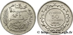 TUNISIA - French protectorate 50 Centimes AH1335 1916 Paris