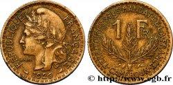 CAMERUN - Territorios sobre mandato frances 1 Franc 1926 Paris MBC+