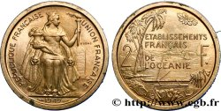 FRENCH POLYNESIA - French Oceania Essai de 2 Francs Établissements français de l'Océanie 1949 Paris AU
