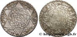 MAROC 2 1/2 Dirhams Abdul Aziz I an 1321 1902 Londres