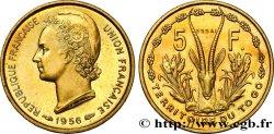 TOGO - UNION FRANÇAISE Essai de 5 Francs 1956 Paris SPL