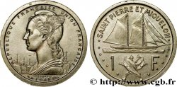 SAINT PIERRE AND MIQUELON 1 Franc ESSAI 1948 Paris MS