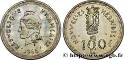 NEW HEBRIDES (VANUATU since 1980) 100 Francs 1966 Paris AU