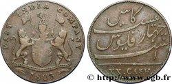 ÎLE DE FRANCE (ÎLE MAURICE) XX (20) Cash East India Company 1803 Madras TB