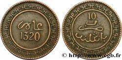 MAROC 10 Mazounas Abdul Aziz an 1320 1902 Birmingham TTB