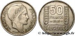 ALGERIA 50 Francs Turin 1949  AU