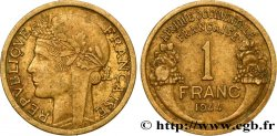 FRENCH WEST AFRICA 1 Franc Morlon 1944 Londres XF