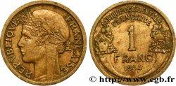 AFRIQUE OCCIDENTALE FRANÇAISE 1 Franc Morlon 1944 Londres TTB