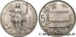 FRENCH POLYNESIA 5 Francs I.E.O.M. 1992 Paris