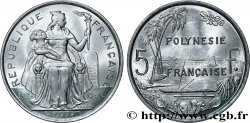 FRENCH POLYNESIA 5 Francs I.E.O.M. 1977 Paris