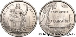 FRENCH POLYNESIA 2 Francs I.E.O.M. 1973 Paris
