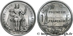 FRENCH POLYNESIA 1 Franc I.E.O.M. 1982 Paris