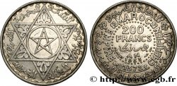 MOROCCO - FRENCH PROTECTORATE 200 Francs AH 1372 1953 Paris