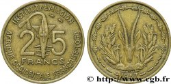 FRENCH WEST AFRICA - TOGO 25 Francs 1957 Paris
